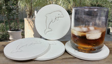 Load image into Gallery viewer, Dolphin Drink Coasters