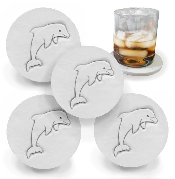 Dolphin Drink Coasters