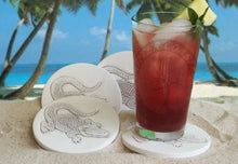 Load image into Gallery viewer, Alligator Drink Coasters