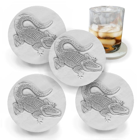 Alligator Drink Coasters