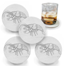 Load image into Gallery viewer, Crawfish Drink Coasters