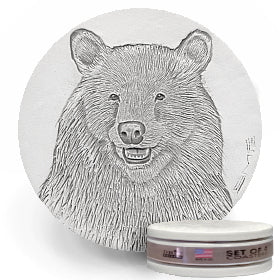 Bear Face Drink Coasters