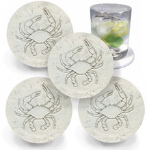 Load image into Gallery viewer, Blue Crab Drink Coasters