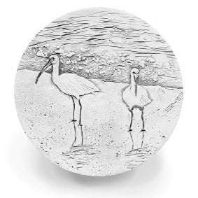 Ibis Birds Drink Coasters