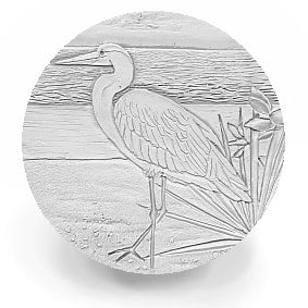 Egret Drink Coasters