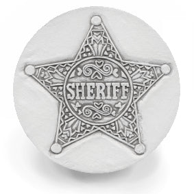 Sheriff Drink Coasters