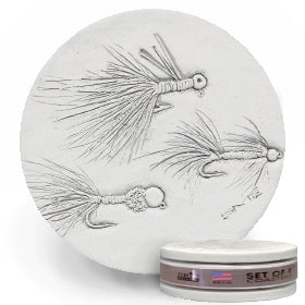 Fly Lure Drink Coasters