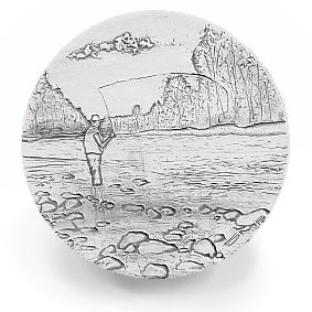 Fisherman Drink Coasters