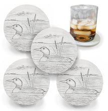 Load image into Gallery viewer, Loon Coasters