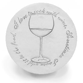 White Wine Drink Coasters