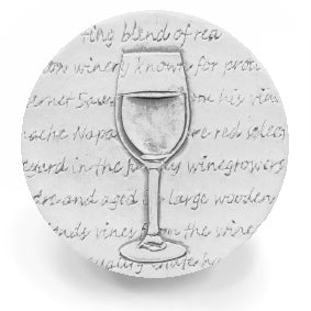 Red Wine Glass  Drink Coasters