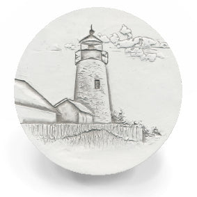 Stone Lighthouse Drink Coasters
