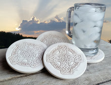 Load image into Gallery viewer, Celtic Cross Drink Coasters