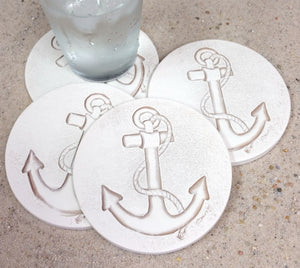 Anchor Drink Coasters