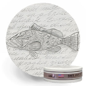 Grouper Drink Coasters