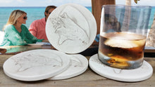 Load image into Gallery viewer, Conch Shell Drink Coasters