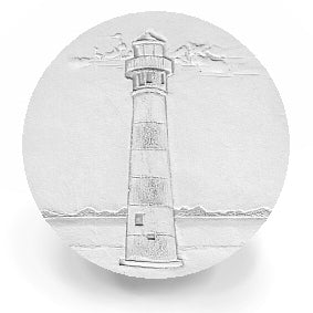 Striped Lighthouse Drink Coasters