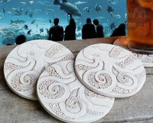 Load image into Gallery viewer, Octopus Drink Coasters