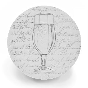 Ale Glass Drink Coasters