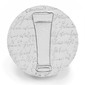 Pilsner Glass Drink Coasters