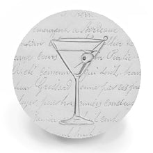 Load image into Gallery viewer, Martini Glass Drink Coasters
