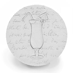Hurricane Glass  Drink Coasters