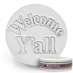 Welcome Y'all Drink Coasters