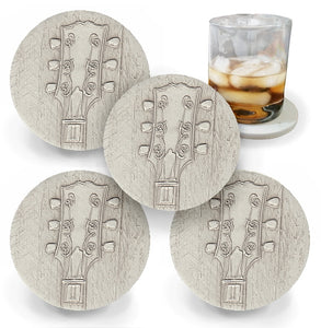 Blues Guitar Drink Coasters