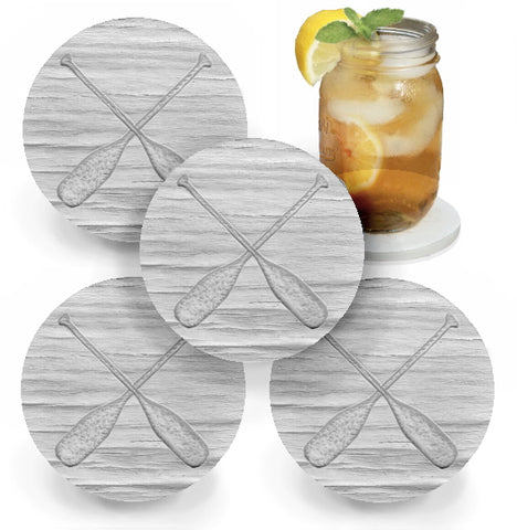 Wood Paddles Coasters