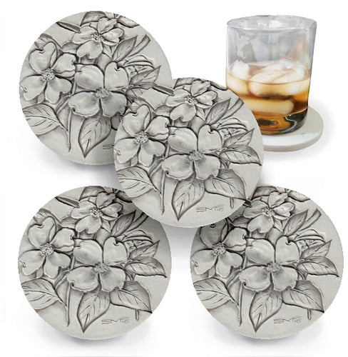 Dogwood Drink Coasters