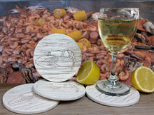 Load image into Gallery viewer, Shrimp Drink Coasters