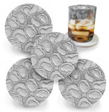 Oysters on the half shell Drink Coasters