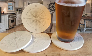 Compass Drink Coasters