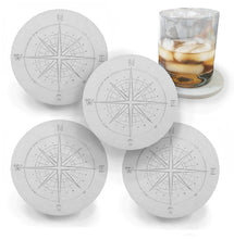 Load image into Gallery viewer, Compass Drink Coasters