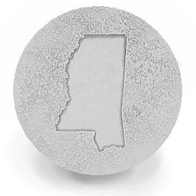 Mississippi Drink Coasters