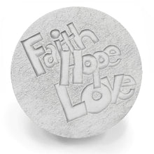 Load image into Gallery viewer, Faith Hope Drink Coasters