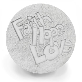 Faith Hope Drink Coasters