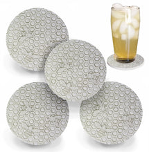 Load image into Gallery viewer, Bee Honeycomb  Drink Coasters