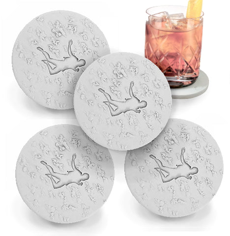 Skydiver Drink Coasters