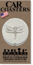 Load image into Gallery viewer, Dragonfly Car Coasters