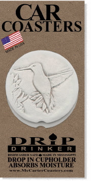 Hummingbird Car Coasters