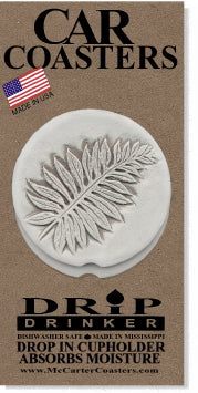 Fern Car Coasters