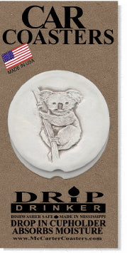 Koala Bear Car Coasters