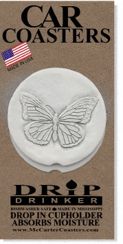 Butterfly Car Coasters
