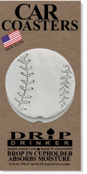 Baseball Car Coasters