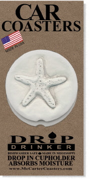 Starfish Car Coasters