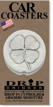 Clover Car Coasters