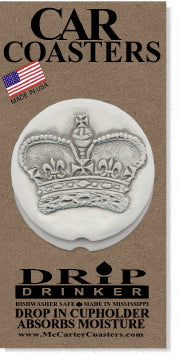 Crown Car Coasters