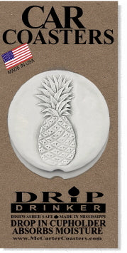 Pineapple Car Coasters