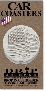 Flag Car Coasters